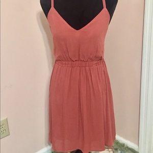 Lulu's Summer Dress With Open Back